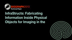 InfraStructs: Fabricating Information Inside Physical Objects for Imaging in the Terahertz Region