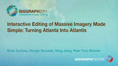 Interactive Editing of Massive Imagery Made Simple: Turning Atlanta Into Atlantis
