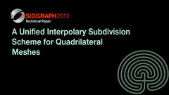 A Unified Interpolary Subdivision Scheme for Quadrilateral Meshes