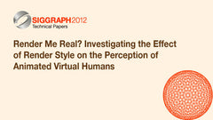 Render Me Real? Investigating the Effect of Render Style on the Perception of Animated Virtual Humans