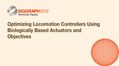 Optimizing Locomotion Controllers Using Biologically Based Actuators and Objectives