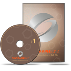 SIGGRAPH 2012 Conference Presentations DVD-ROM set