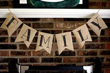 LaRibbons Burlap Banner, DIY Party Decor for Birthday, Wedding, Baby Shower and Graduation