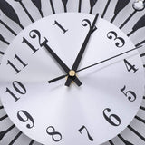 Simlug Wall Clock,Modern Wall Clock Modern Wall Clock, 3D DIY Modern Luxury Design Wall Clocks Stickers for Living Room Bedroom Home Decorations(Black)