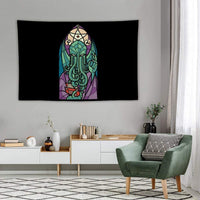 Tapestry Wall Hanging, Cthulhu's Church Wall Tapestry with Art Nature Home Decorations for Living Room Bedroom Dorm Decor