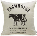 Meekio Farmhouse Pillow Covers with It's So Good to Be Home Quotes 18 x 18 Inch Farmhouse Decor Housewarming Gifts for The Home