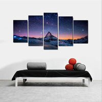 Xanam Modern Landscape Artwork Canvas Wall Art for Living Room Canvas Prints without Frame Paintings