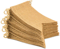 ThxToms [45 Pcs] Burlap Banner, DIY Party Decor for Birthday, Wedding, Baby Shower and Graduation, 43.5ft