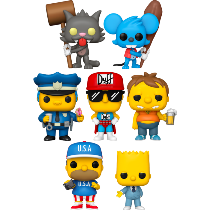 Funko Pop! The Simpsons - An Embiggening - Bundle (Set of 7) - The Amazing Collectables