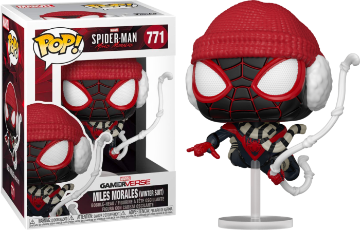 Funko Pop! Marvel's Spider-Man: Miles Morales - Miles Morales in Winter Suit