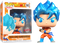 Funko Pop! Dragon Ball Super - SSGSS Goku Kamehameha Metallic #563 - The Amazing Collectables