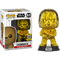 Funko Pop! Star Wars - Chewbacca Gold Chrome #63 (2019 Galactic Convention Exclusive) - The Amazing Collectables