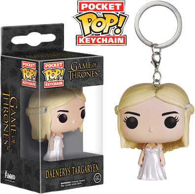 Funko Pocket Pop! Keychain - Game of Thrones - Daenerys Stormborn - The Amazing Collectables
