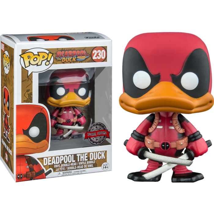 Funko Pop! Deadpool - Duckpool