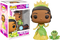 Funko Pop! The Princess and The Frog - Princess Tiana and Naveen Glitter #419 - The Amazing Collectables