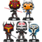 Funko Pop! Star Wars: The Clone Wars - Mandos & Commandos - Bundle (Set of 5) - The Amazing Collectables