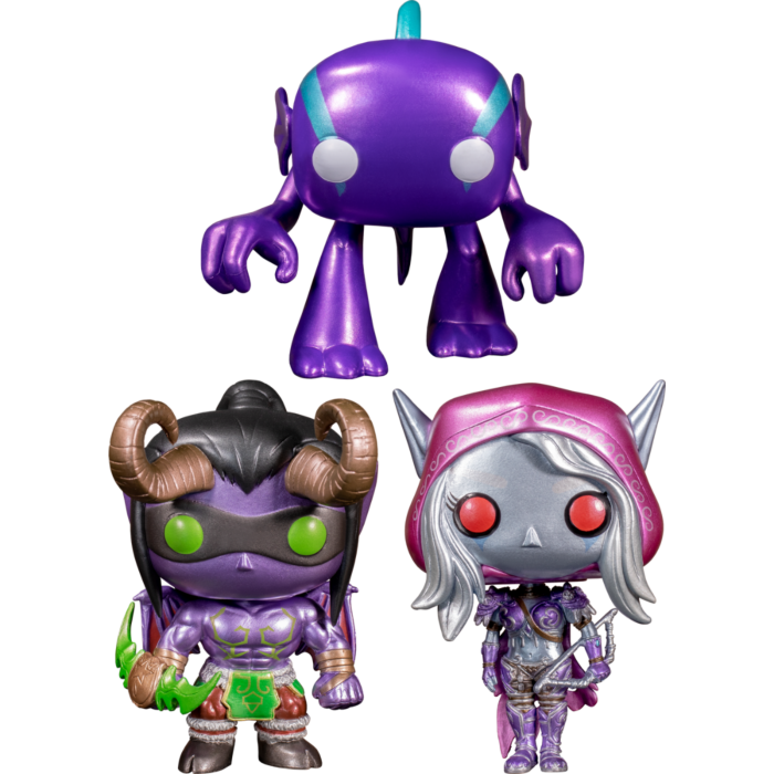Funko Pop! World Of Warcraft - Blizzard 30th Anniversary - Bundle (Set of 3) - The Amazing Collectables