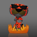 Funko Pop! Cheetos - Chester Cheetah with Flames Glow in the Dark