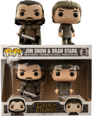 Funko Pop! Game of Thrones - Jon Snow & Bran Stark - 2-Pack - The Amazing Collectables