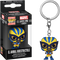 Funko Pocket Pop! Keychain - Marvel: Lucha Libre Edition - El Animal Indestructible Wolverine - The Amazing Collectables