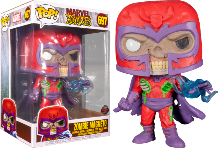 Funko Pop! Marvel Zombies - Magneto Zombie 10""