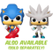 Funko Pop! Sonic the Hedgehog - Silver Glow in the Dark - The Amazing Collectables