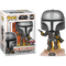 Funko Pop! Star Wars: The Mandalorian - The Mandalorian with Jetpack #408 - The Amazing Collectables