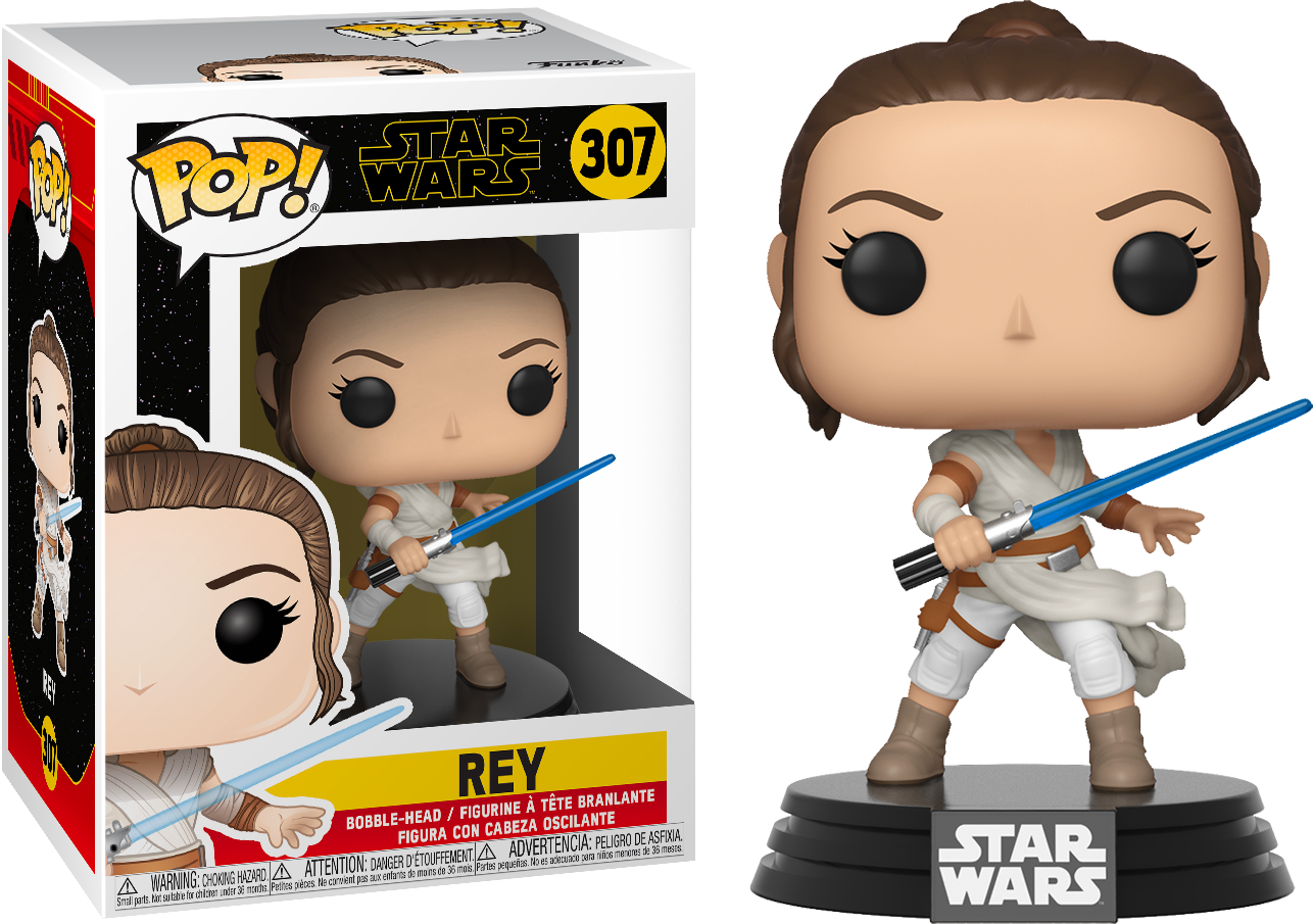 Funko Pop Star Wars Episode Ix The Rise Of Skywalker Rey 307 The Amazing Collectables
