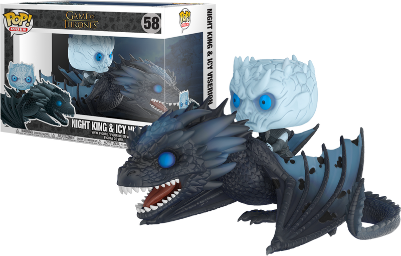 Funko Pop! Ride - Game of Thrones - Night King with Viserion
