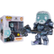 "Funko Pop!  Overwatch - Coldhardt Reinhardt Glow in the Dark 6"" Super-Sized #400 (2018 Fall Convention Exclusive) - The Amazing Collectables"