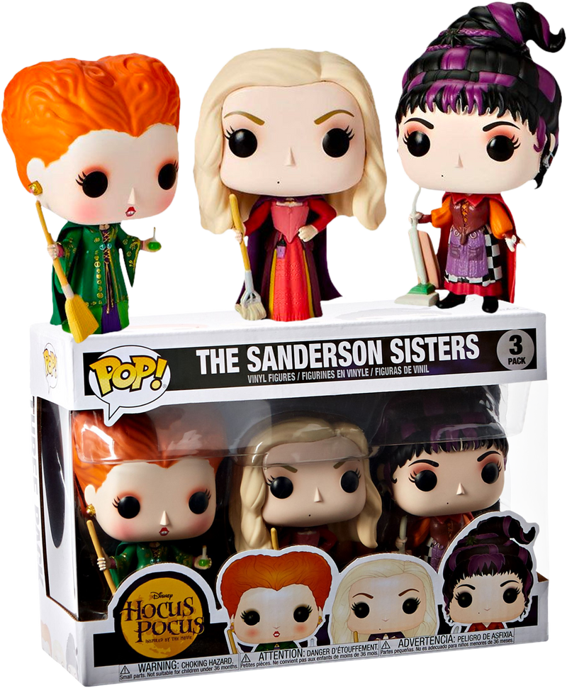 Funko Pop! Hocus Pocus - The Sanderson Sisters - 3-Pack - The Amazing Collectables