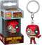 Funko Pocket Pop! Keychain - Marvel Zombies - Deadpool Zombie - The Amazing Collectables