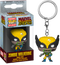 Funko Pocket Pop! Keychain - Marvel Zombies - Wolverine Zombie - The Amazing Collectables