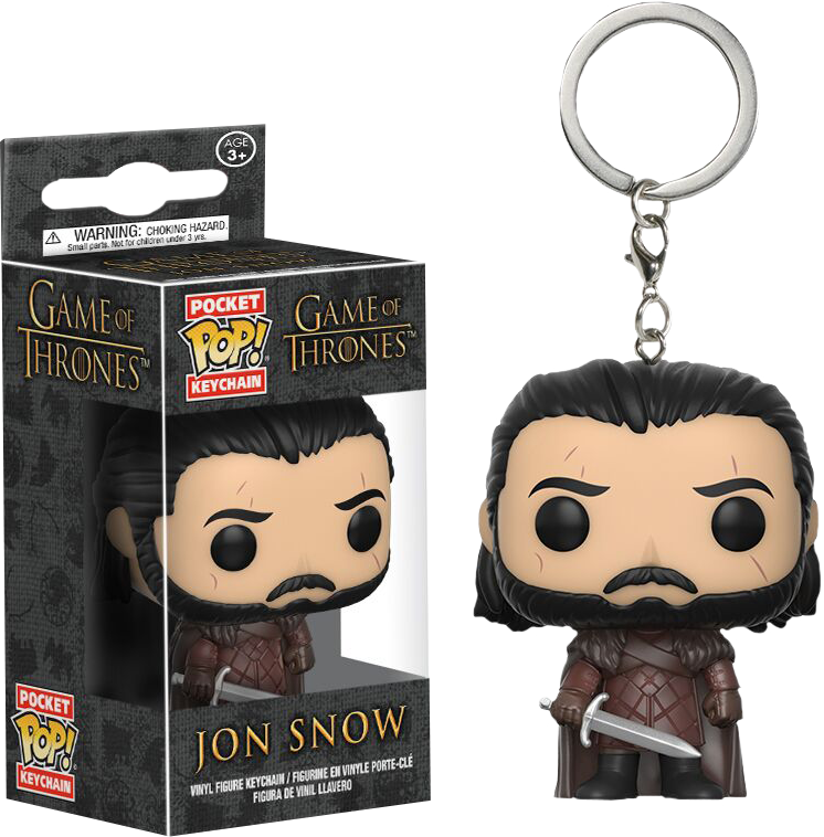 Funko Pocket Pop! Keychain - Game of Thrones - Jon Snow - The Amazing Collectables