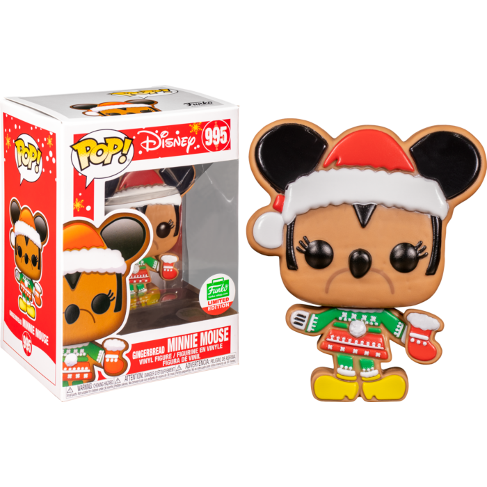 Funko Pop! Mickey Mouse - Gingerbread Minnie Mouse