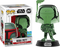 Funko Pop! Star Wars - Boba Fett Green Chrome #297 (2019 SDCC Exclusive) - The Amazing Collectables