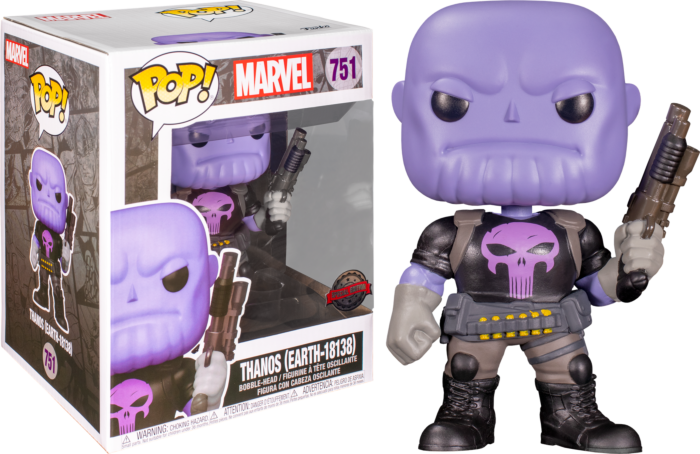 "Funko Pop! Marvel - Punisher Thanos 6"" Super Sized"