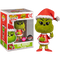 Funko Pop! The Grinch - Santa Grinch Flocked #12 - The Amazing Collectables