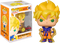 Funko Pop! Dragon Ball Z - Super Saiyan Goku First Appearance Glow in the Dark #860 - The Amazing Collectables