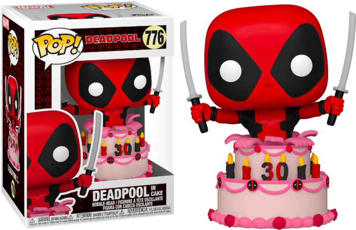 Funko Pop Deadpool Deadpool In Cake 30th Anniversary 776 The Amazing Collectables