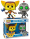 Funko Pop! Ratchet & Clank - Ratchet & Clank - 2-Pack - The Amazing Collectables