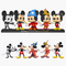 Funko Pop! Walt Disney Archives - Mickey Mouse 50th Anniversary - 5-Pack - The Amazing Collectables