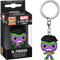 Funko Pocket Pop! Keychain - Marvel: Lucha Libre Edition - El Furioso Hulk Pocket - The Amazing Collectables