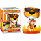 Funko Pop! Cheetos - Chester Cheetah with Flames Glow in the Dark #117 - The Amazing Collectables