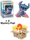 Funko Pop! Mystery Box - Stitch on Tricycle Deluxe #784 (+ Box of 3 Mystery Pop! Vinyl Figures) - The Amazing Collectables