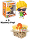 Funko Pop! Mystery Box - Super Saiyan Gohan with Sunglasses #889 (+ Box of 5 Mystery Pop! Vinyl Figures) - The Amazing Collectables