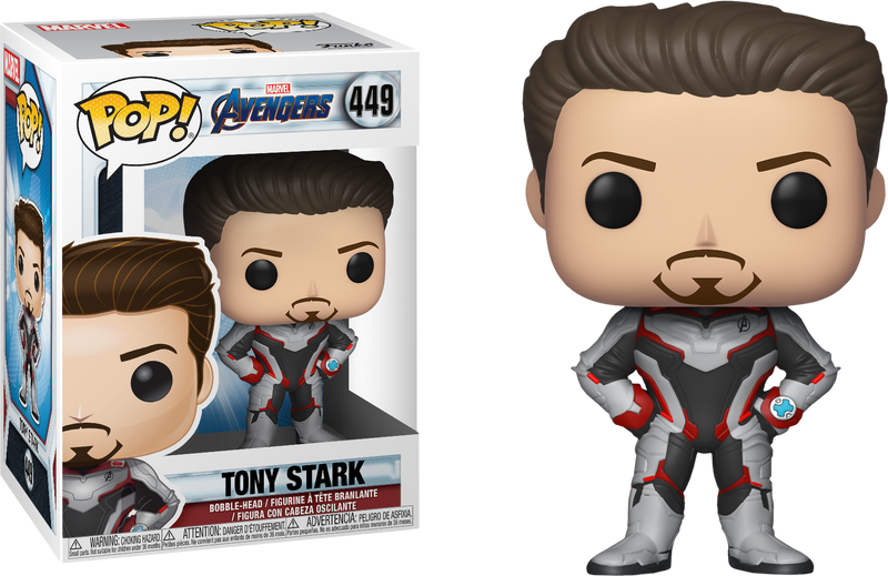 Funko Pop! Avengers 4: Endgame - Tony Stark in Team Suit