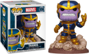 Funko Pop! The Infinity Gauntlet - Thanos Snap Metallic Deluxe