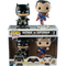 Funko Pop! Batman vs Superman: Dawn of Justice - Metallic Batman and Superman - 2-Pack - The Amazing Collectables