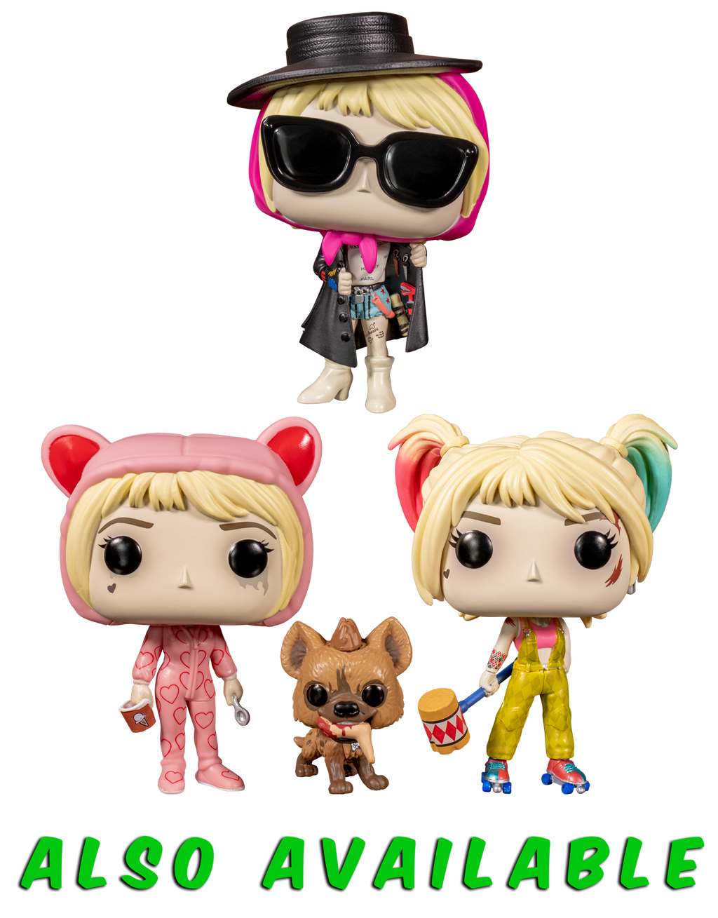 Funko Pop Birds Of Prey 2020 Harley Quinn And Beaver 308 The Amazing Collectables